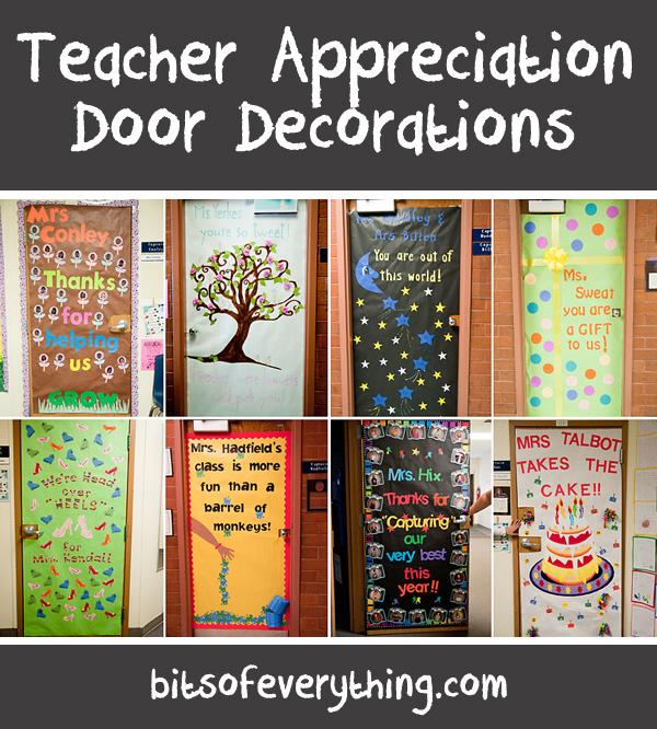 Teacher Appreciation Door Bits Of Everything
