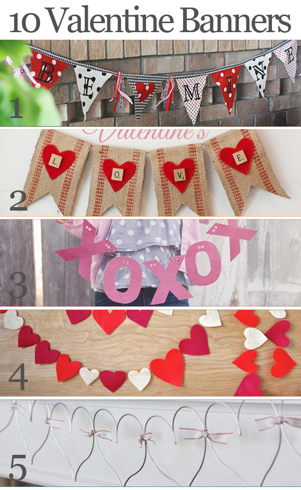 Valentine Craft - Heart Garland - Bits of Everything