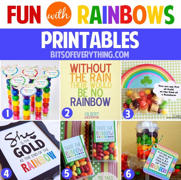 rainbows-printables