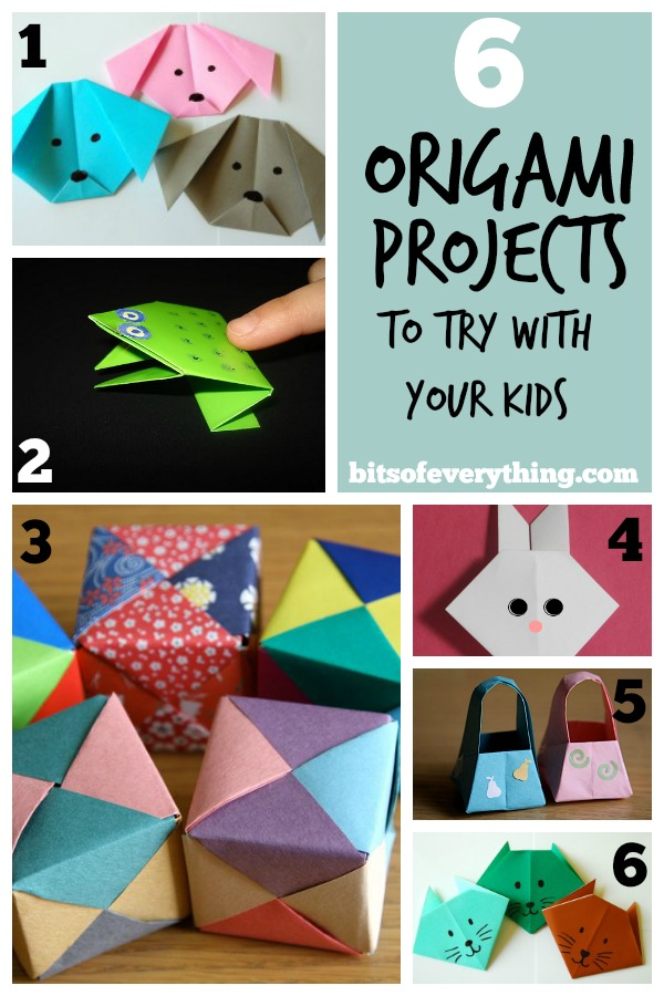6 Fun Origami Projects | Bits of Everything - photo#1