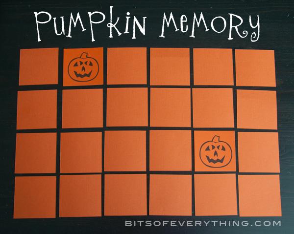PumpkinMatchingGame