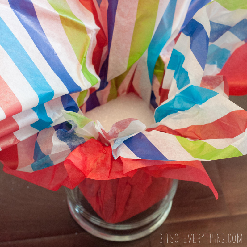 how to make a happy birthday candy bouquet
