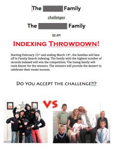 Indexing Challenge Invite